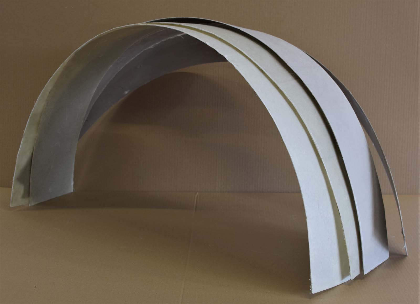 Inner wheel arch sections