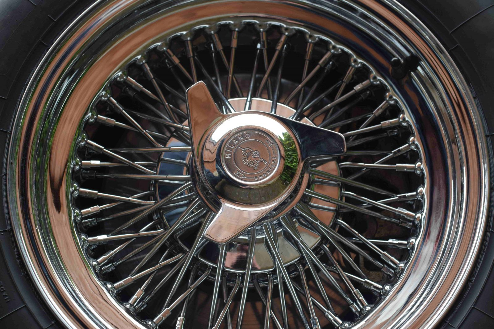 Wire wheels 15×7 Dished 2