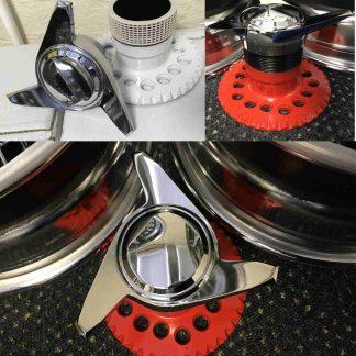 Wheel spinners and hub adaptors